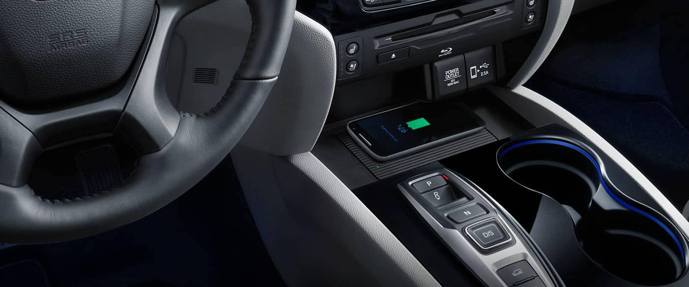 2019 Honda Pilot Wireless Phone Charging