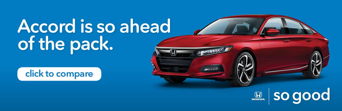 Capital Region Honda Dealers Compare Accord Banner