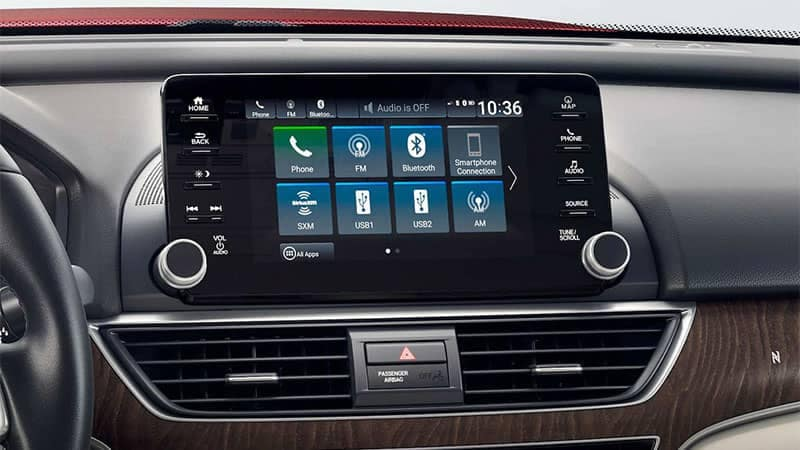2019 Honda Accord display screen