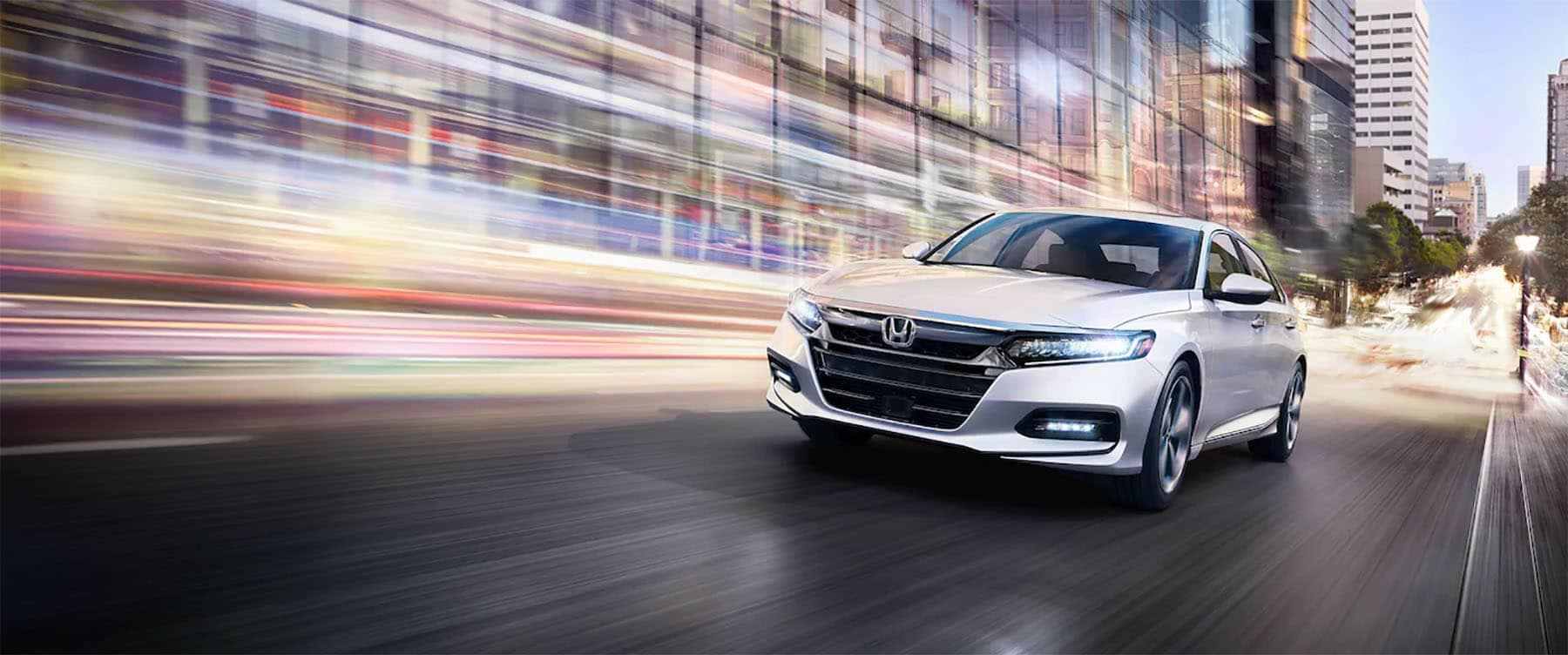 2019 Honda Accord Driving Through the City