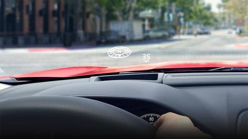 2019 Honda Accord Heads Up Display