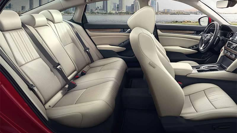2019 Honda CR-V interior seating