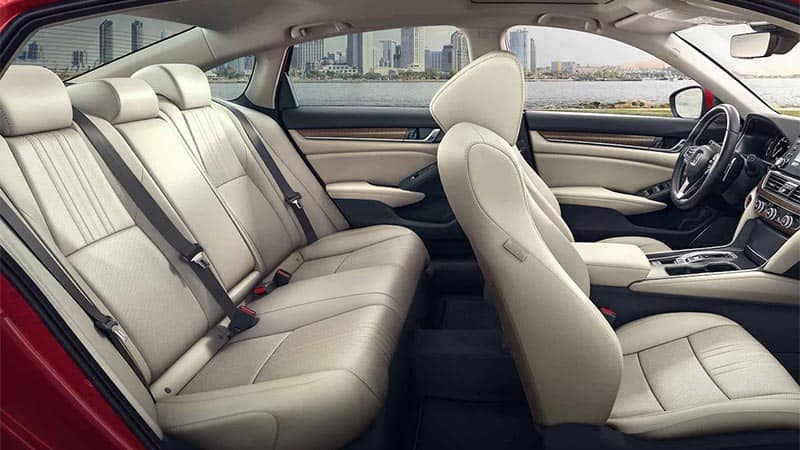 2019 Honda Accord Leather Seating