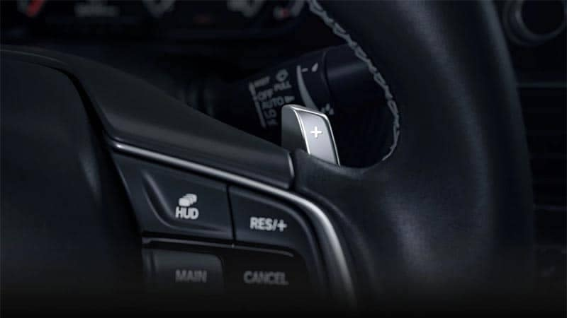 2019 Honda Accord Paddle Shifters