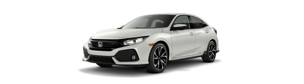 2019 Honda Civic Hatchback Front Angle