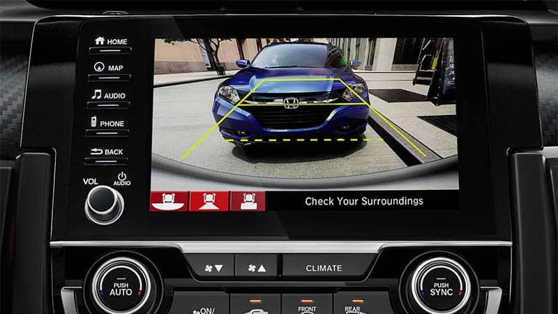 2019 Honda Civic Hatchback Rearview Camera