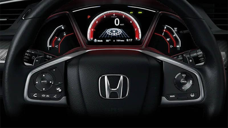 2019 Honda Civic Hatchback Steering Wheel Controls