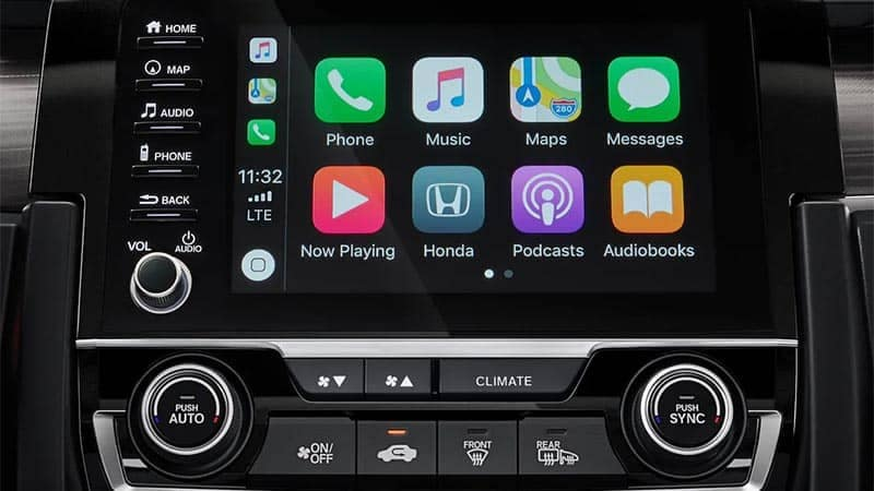 2019 Honda Civic Sedan Apple Carplay