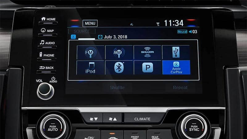 2019 Honda Civic Sedan Display Screen