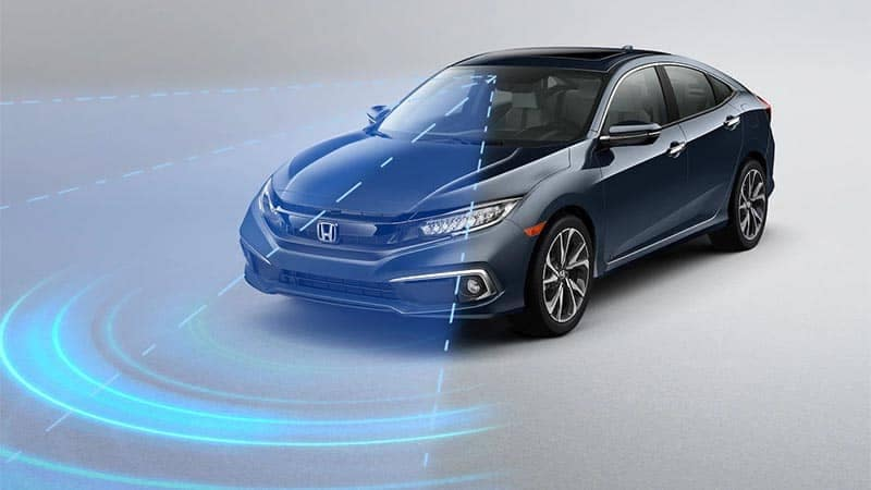 2019 Honda Civic Sedan Honda Sensing Features