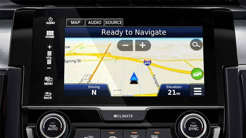 2019 Honda Civic Sedan Navigation System