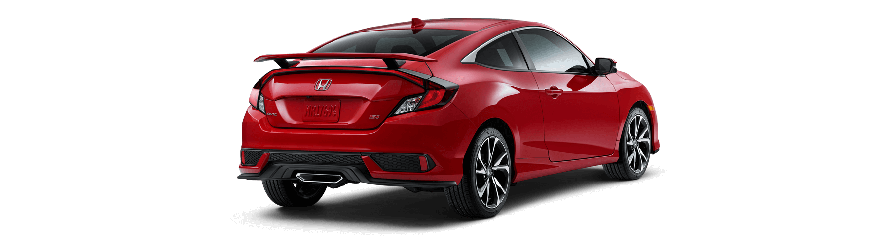 2019 Honda Civic Si Coupe Rear Angle