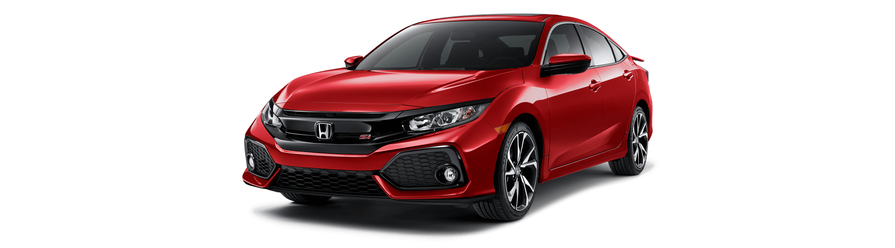 2019 Honda Civic Si Sedan Front Angle