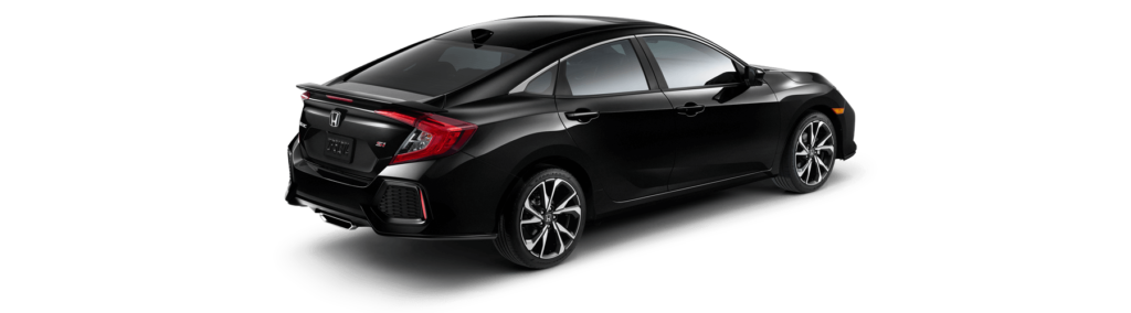 2019 Honda Civic Si Sedan Rear Angle