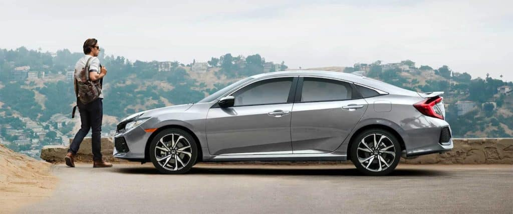 2019 Honda Civic Si Sedan Side Profile