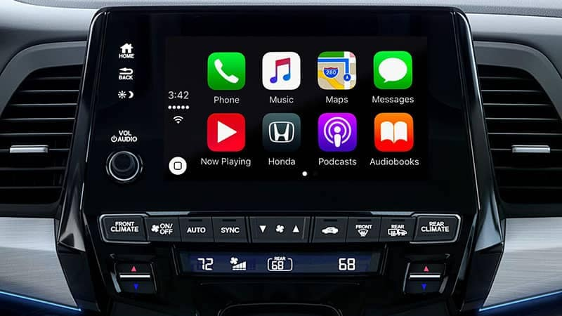 2019 Honda Odyssey Apple Carplay