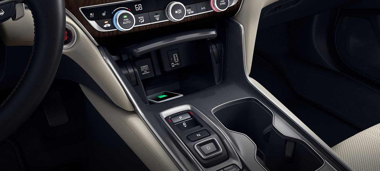 2019 Honda Accord Sedan Interior Wireless Charger