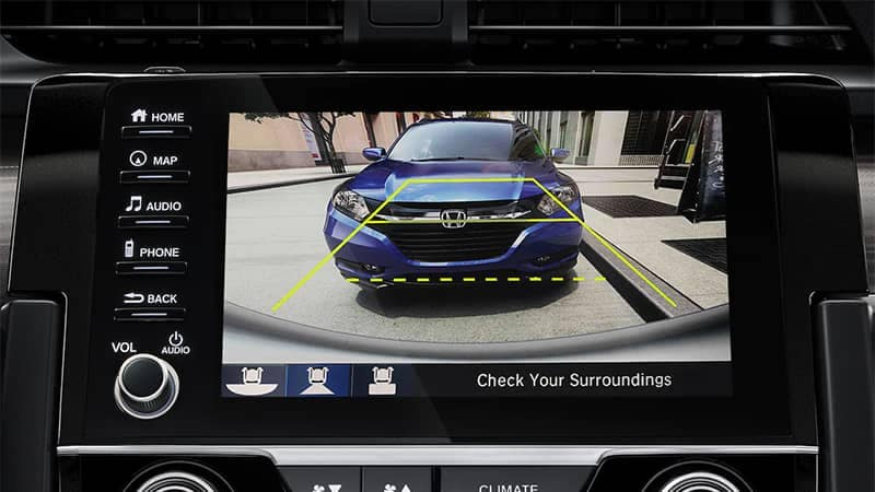 2019 Honda Civic Coupe Rearview Camera