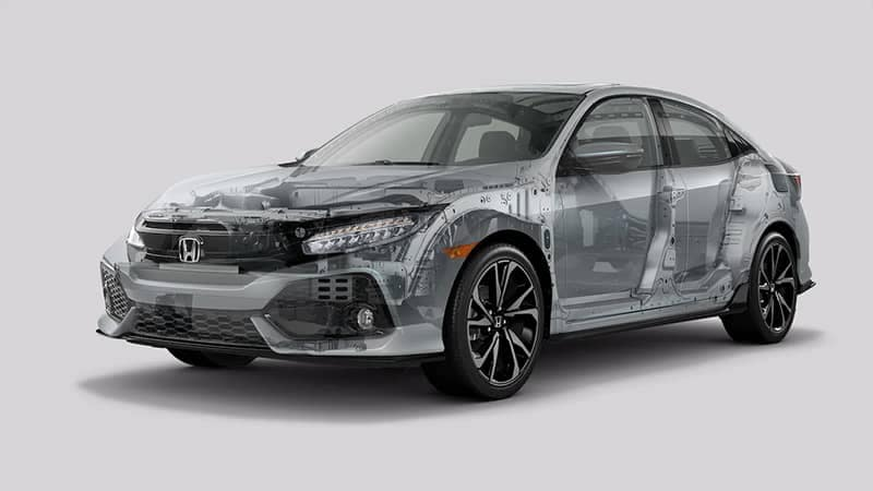 2019 Honda Civic Hatchback Engine