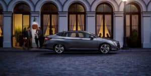 2019 Honda Clarity Plug-In Hybrid Exterior Side Profile Night