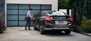 2019 Honda Clarity Plug-In Hybrid Exterior Rear Angle Charging