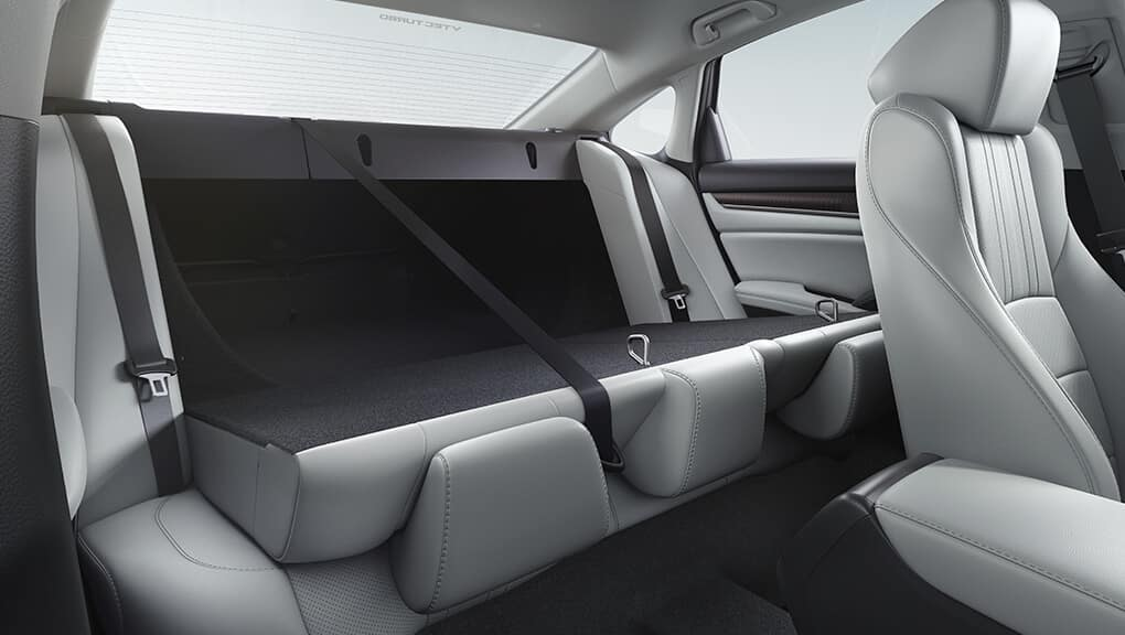 2019 Honda Accord Folded Back Seats