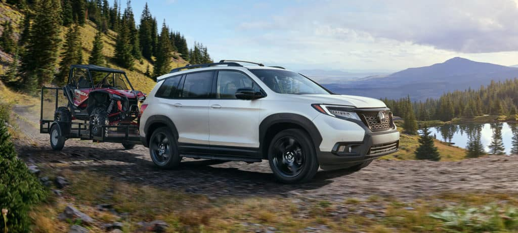Ford Edge Towing Capacity >> 2019 Honda Passport | All-New Rugged Midsize SUV | Capital Region Honda Dealers