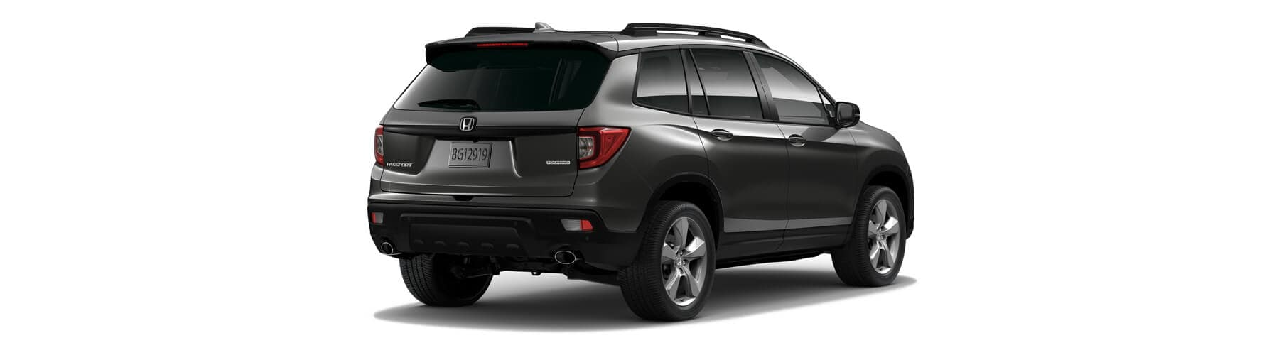 2019 Honda Passport Rear Angle