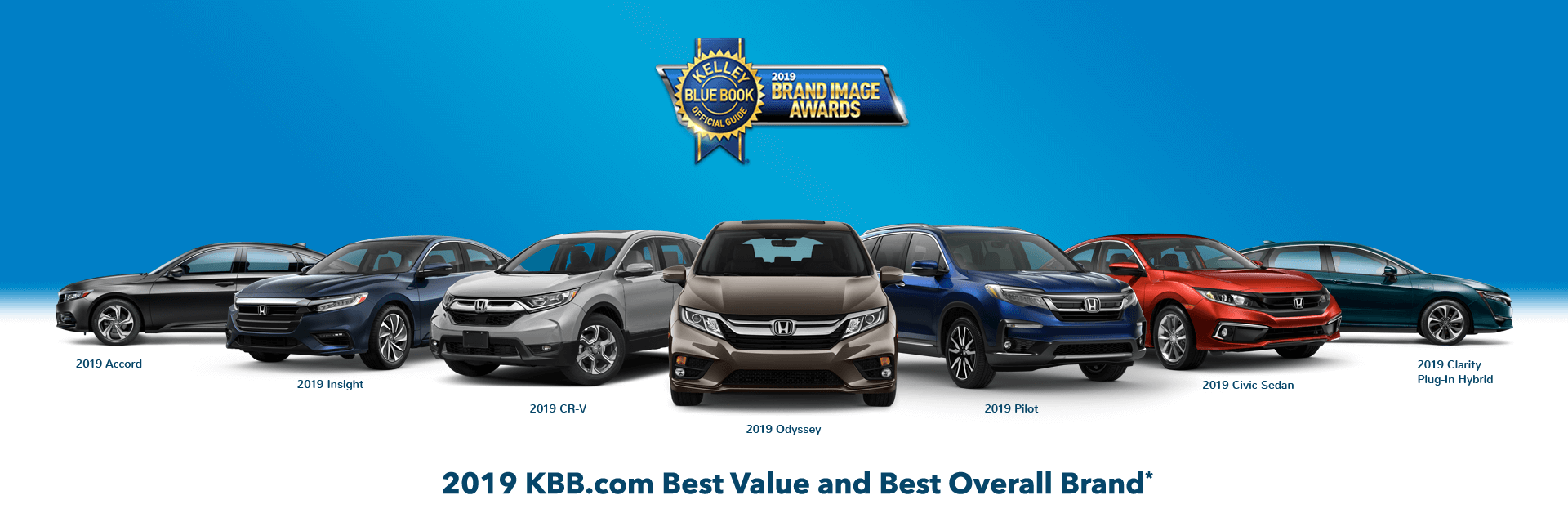 2019 Kelley Blue Book Brand Image Award Slider