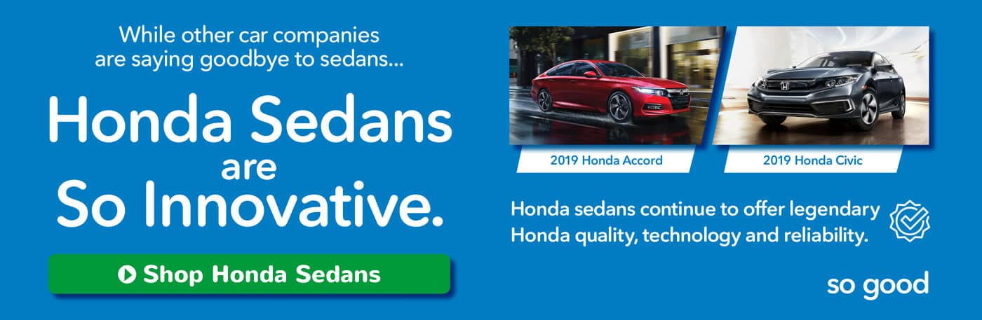 Capital Region Honda Dealers Honda Sedans Banner