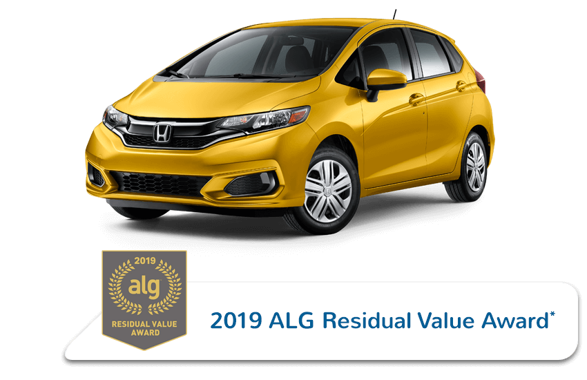 2019 Honda Fit ALG Residual Value Award Image