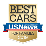 2019 Accord U.S. News and World Report: Best Midsize Car for Families
