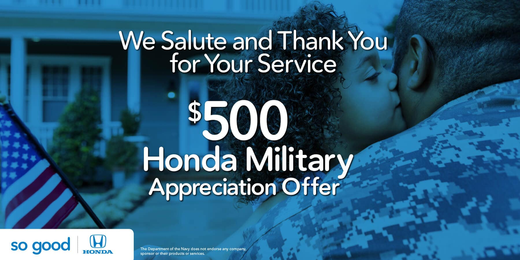 Honda Military Appreciation Offer Capital Region Honda Dealers HP Slide