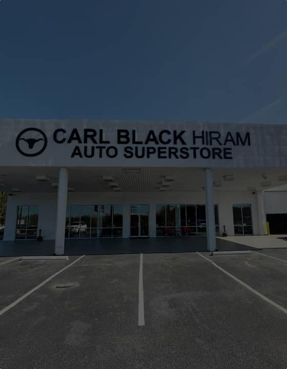 Carl Black Hiram Auto Superstore storefront