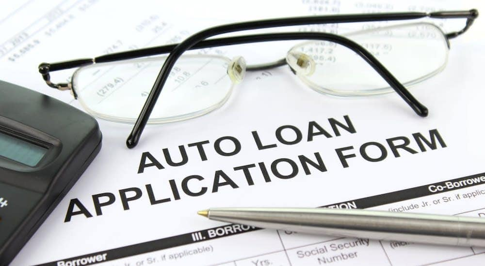 Auto Loan Application Form for Bad Credit Car Buyers
