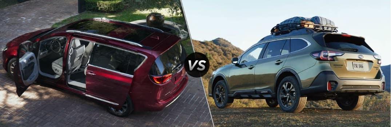 2020 Chrysler Pacifica vs 2020 Subaru Outback