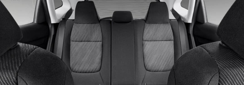 2021 Kia Seltos Black Cloth interior upholstery