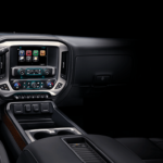 GMC Truck Interior of a 2018 Sierra 1500