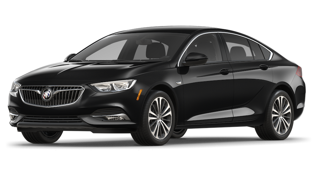 Black 2018 Buick Regal