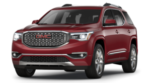 Red 2018 GMC Acadia