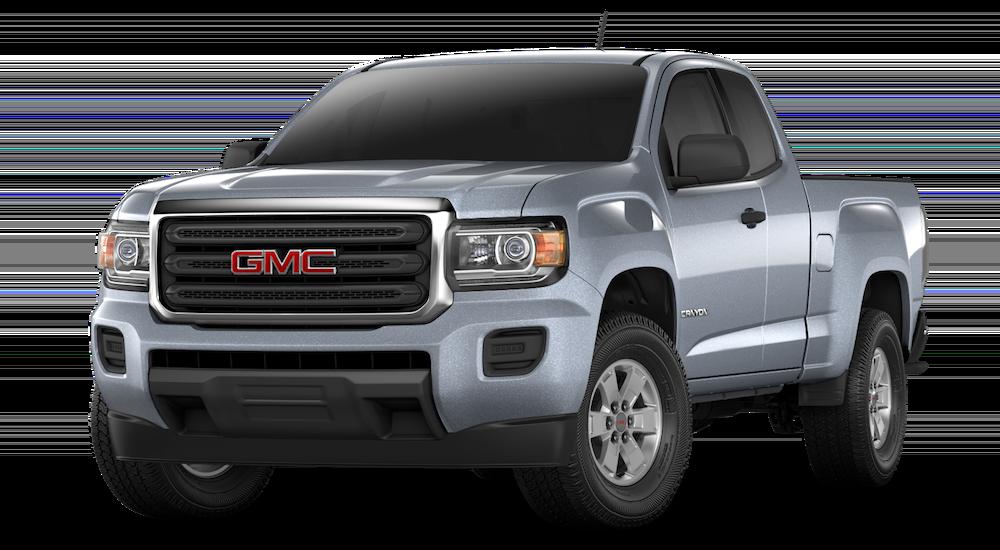 Grey 2018 GMC Canyon