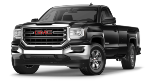 Black 2018 GMC Sierra