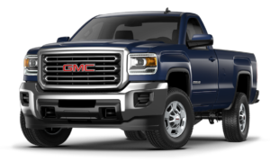 Blue 2018 GMC Sierra 2500HD