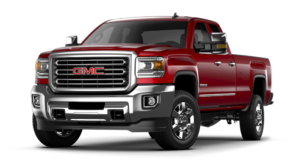 Red GMC Sierra 3500HD