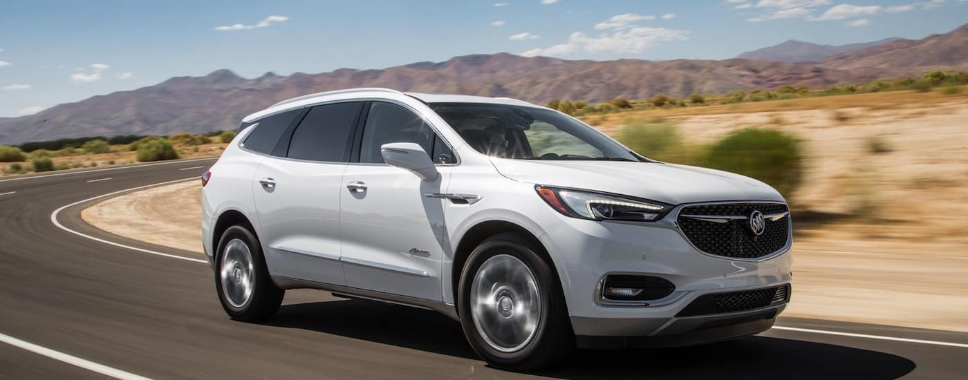 2019 Buick Enclave Performance Driving in Desert