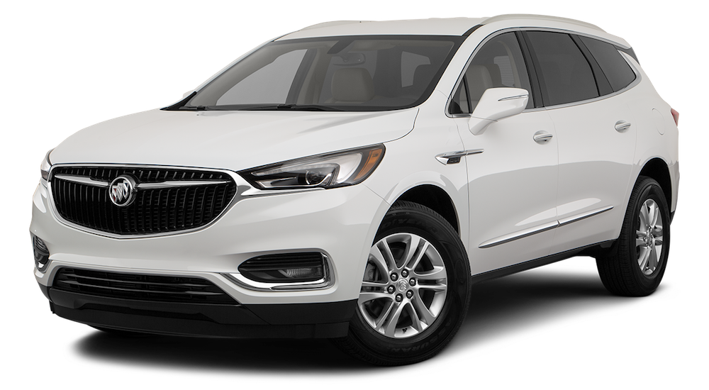 White 2019 Buick Enclave