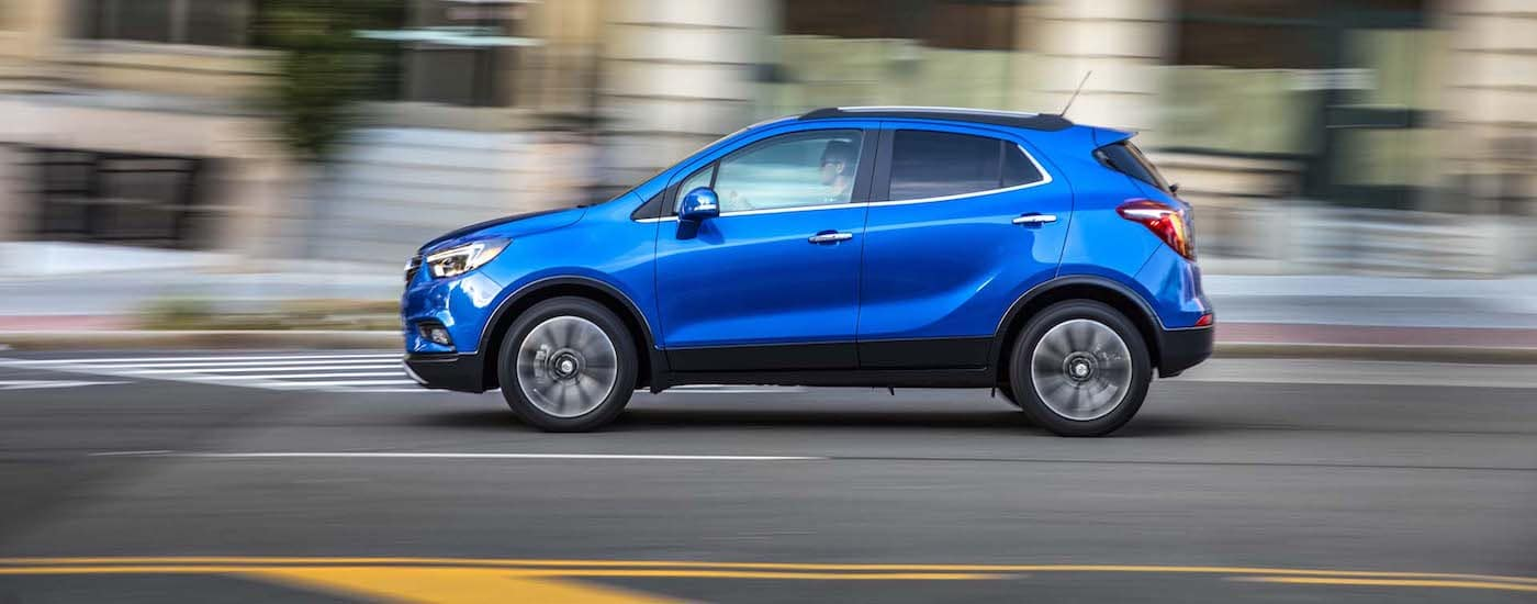 2019 Buick Encore driving safely on the road