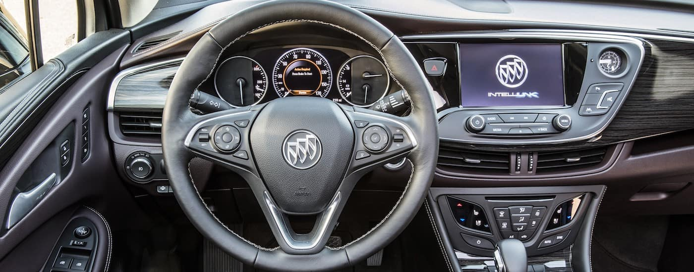 2019 Buick Envision Interior Dashboard