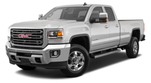 Grey GMC Sierra 2500HD