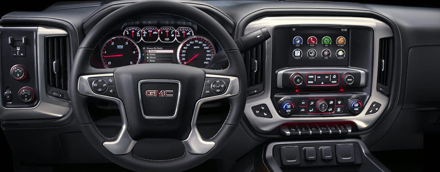 2019 GMC Sierra 2500HD Interior